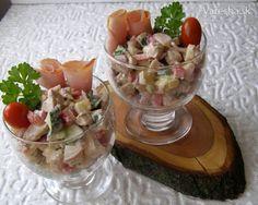 Kuřecí salát - Recept Pudding, Desserts, Food, Red Peppers, Tailgate Desserts, Deserts, Custard Pudding, Essen, Puddings
