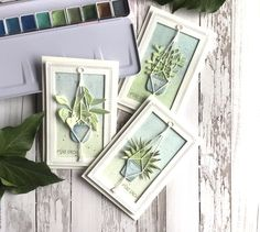 Plant Ladder, Bloom Where You Are Planted, Cactus Plants, Pot Plants, I Card, Flower Pots, Stampin Up, Card Making, Gallery Wall