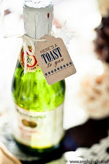 Sparkling Cider Mini Bottles | Favors, Weddings and Wedding