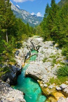 Río de montaña salvaje en un barranco, Trenta Valley, Eslovenia Zhangjiajie, Trenta, Bosnia And Herzegovina, Our World, Montenegro, Mother Earth, Foundation, To Go, River