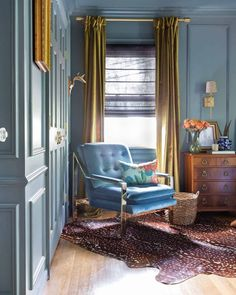 One Room Challenge, The Reveal: A Modern Traditional Master Bedroom Master Bedroom Makeover, Bedroom Makeovers, Blue Rooms, Modern Traditional, Dream Rooms, My Living Room, My New Room, Bedroom Decor, Modern Bedroom