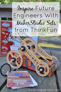 Inspire future engineers with these fun MakerStudio Sets from ThinkFun