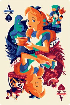 Alice in Wonderland (Front) | Inside the Magic