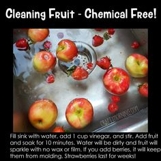 How to Keep Fruit Fresh and Lasting Longer – Crafty Morning – Genius ideas – frech Healthy Snacks, Healthy Eating, Healthy Recipes, Healthy Nutrition, Fruit And Vegetable Wash, Sweet Potato Gnocchi, Good Food, Yummy Food, Food Facts