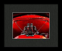 Chevrolet Special Deluxe Framed Print featuring the photograph The Heartbeat by Marnie Patchett