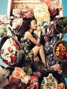 Ji Hye Park – Vogue Korea June 2012