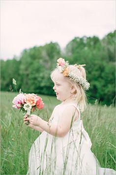 Flower girl dress idea.