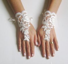 Hey, I found this really awesome Etsy listing at https://www.etsy.com/listing/125813577/ivory-wedding-glove-ivory-lace-gloves