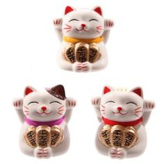 Lucky cat money boxes