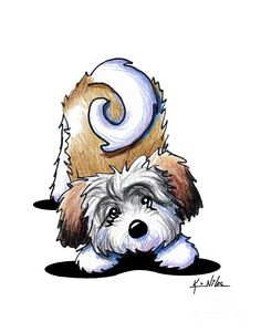 Choose your favorite havanese drawings from millions of available designs. All havanese drawings ship within 48 hours and include a money-back guarantee. Animal Drawings, Art Drawings, Perro Shih Tzu, Paint Your Pet, Havanese Puppies, Bichon Havanais, Dog Illustration, Cartoon Dog, Dog Paintings