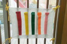 手作りおもちゃ(マジックテープの無限!!ビリビリ) | pawafurukitasenseiのブログ Baby Crafts, Diy And Crafts, Childcare, Kids And Parenting, Handicraft, Montessori, Activities For Kids, Baby Kids, Blanket