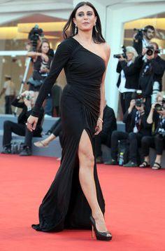 La actriz Nadine Labaki en la ceremonia de entrega de premios del Festival de Cine de Venecia