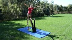 Download video: easy two person stunts