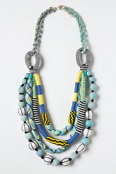 Not usually a fan of chunky jewelry, but this one catches my attention.
