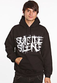 """Suicide Silence """"Pull The Trigger"""" Hoodie"""