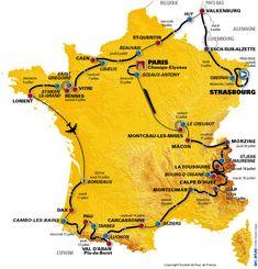 2006 Tour de France route
