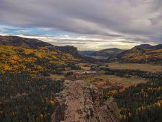 Twilight on Wolf Creek Pass