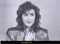 Laura Branigan 1984, she is 32.