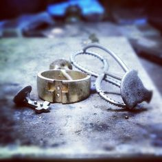Another full day #metalcasting #jeweler #jewelerbench #whitegold #yellowgold