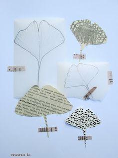 mano kellner, drawing challenge: leaves