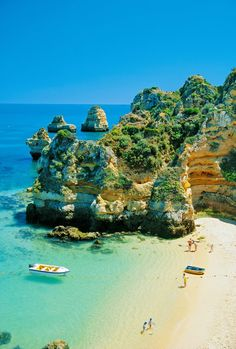 Camilo Beach, Algarve, Portugal