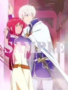 Akagami no Shirayukihime - Zen and Shirayuki #anime #manga