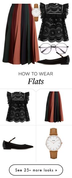 """Untitled #1337"" by boozerk on Polyvore featuring Gabriela Hearst, Zimmermann, Repetto and CLUSE"
