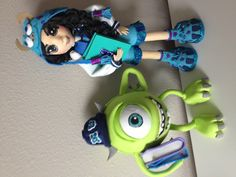 Mike from Monster University and A Personalized Sulli Doll
