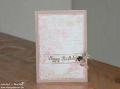 Geburtstagskarte Stampin Up Birthday Card