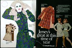 Dresses by Polly Peck 1969