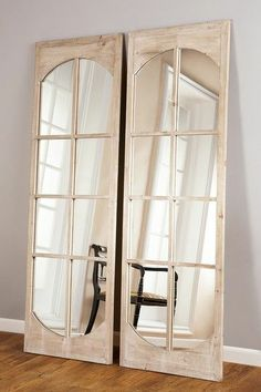 French Mirror Doors, turn into a screen/room divider