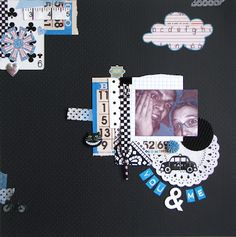 Paper and Pins... my handmade journey: Me and my bro... by Leonie Waldron