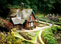 Gingerbread House - Princes Street Gardens, Edinburgh, Scotland  [Ljubica_R]