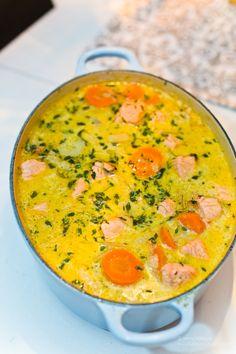 Enkel laxsoppa med fänkål och timjan - 56kilo.se - LCHF, Keto och goda recept!
