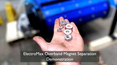 This video demonstrates the power of the ElectroMax Overband Magnet & why this design is perfect for #Mining #recycling & especially mobile screens & crushers Screens, Magnets, Recycling, Design, Canvases, Upcycle, Window Screens