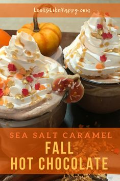Sea Salt Caramel Hot