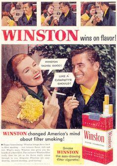 Winston tastes bad, like the one I just had!