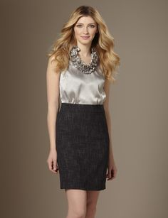 Own & love this dress! Ruffle 2-in-1 Dress from The Limited