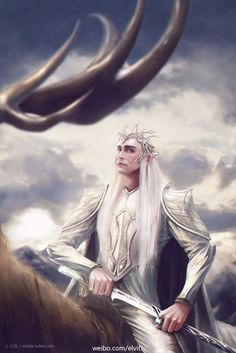 #Thranduil fan art.