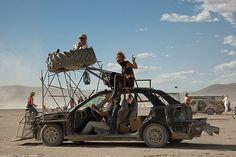 burning man vehicles - Google Search