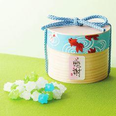 【楽天市場】金魚の彩り木箱・金平糖のプチギフト 1個(こんぺいとう約10g入り)【結婚式 二次会 夏 サマーウェディング プチプレゼント】:Hitomiの幸せデリバリー