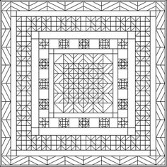quilt patterns coloring pages 04 Math Rotations reflections