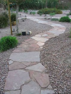 Rocks And Stones Walkway Design Ideas 54