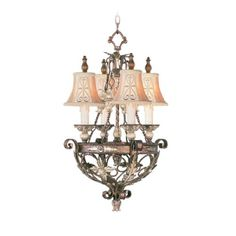 Livex Lighting 8844-64 Chandelier with Hand Embroidered and Decorative Finials Shades, Palatial Bronze with Gilded Accents Livex Lighting http://www.amazon.com/dp/B00B33ASLO/ref=cm_sw_r_pi_dp_w99xvb0GQV50F