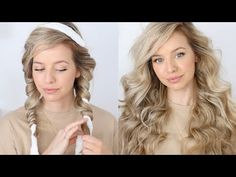Curl Hair Overnight, Overnight Hairstyles, Overnight Waves, No Heat Curls Overnight, Heatless Curls Overnight, Curl Hair Without Heat, Curls No Heat, No Heat Waves, Heatless Hairstyles