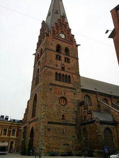 St. Petri Kyrka in Malmo [2013] #travel #Malmo #Sweden #church