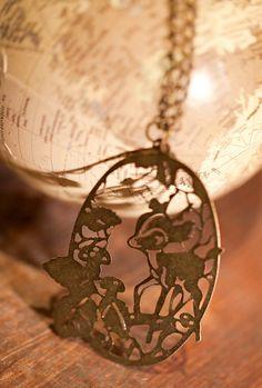 Bambi Pendant Necklace