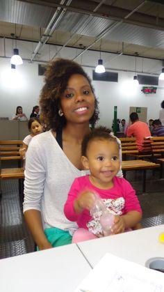 Juliana Cristina, funcionária do Poupatempo Campinas Shopping, aproveitou suas férias para levar a sua filha Liara, de 1 ano e 2 meses de idade para fazer 1ª via do RG. No mesmo dia, fez o CPF da pequena e incluiu o número na carteira de identidade, além da tipagem sanguínea