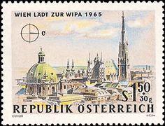 Austria, Taj Mahal, Building, Travel, Image, Cold War, Postage Stamps, Viajes, Buildings