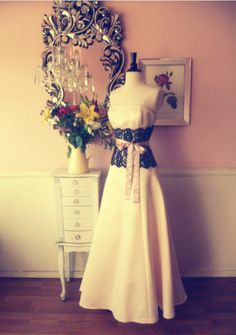 totally going to make my wedding dress an expensive piece of decor in my house lol